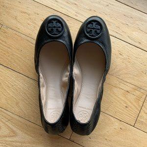 Black Tory Burch Ballet Flat